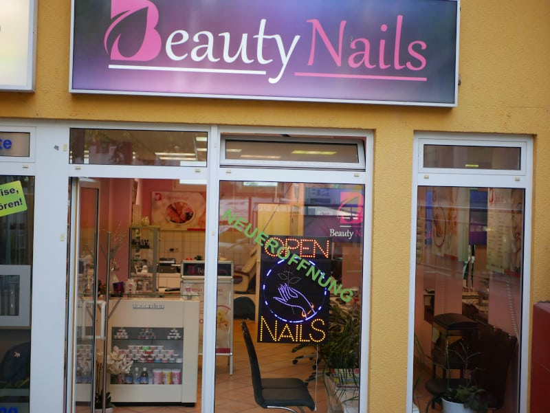 Nagelstudio Beautynails in Göppingen aussen